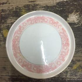 潮州茶盘,直径19厘米