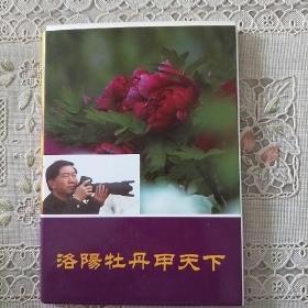 洛阳牡丹甲天下  (明信片10张)
