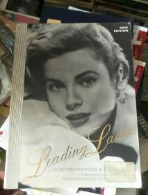 英文原版 最著名的女影星 Leading Ladies(英文原版明星老照片)