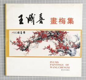 著名国画家、中国美协理事 王成喜 1990年 签名本赠徐-斗《王成喜画梅集》一册(25*26cm)HXTX119685
