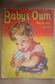 1953年 Babys Own 珍贵早期彩色连环画绘本《宝贝梦田》 全珂罗版彩色插图 大开本