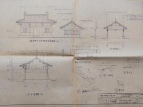 存在或者消失的南京景点建筑;龙泉禅寺修复施工图
