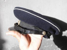 五五式海军帽子 五五式大盖帽 带 五五式海军帽徽 五五式军帽 五五式帽子 军品收藏 红色收藏 红色文物
