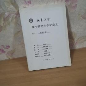 北京大学博士研究生学位论文:中县干部
