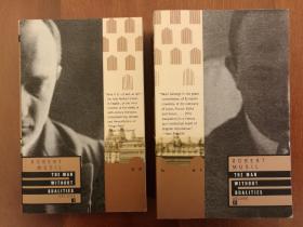 The Man Without Qualities Vol. 1 & Vol. 2 (上下册,全套两册合售)(进口原版,国内现货)