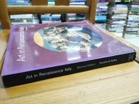 英文原版:Art in Renaissance Italy