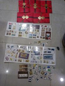 邮票  图里全部合售