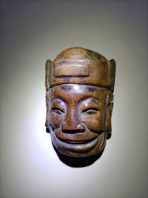 清代傩戏面具