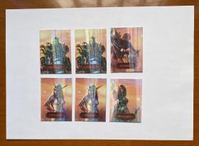 妙脆角魔兽世界卡 6张游戏卡 (已经使用过的废卡,仅供收藏)
