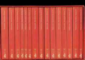 尼采著作全集15卷 Sämtliche Werke: Kritische Studienausgabe in 15 Bänden  KSA 批判研究版 全集