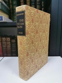 The Decameron of Giovanni Boccaccio 《十日谈》 卜迦丘 heritage press 1940 年布面精装版 插画大师Fritz Kredel 经典配图