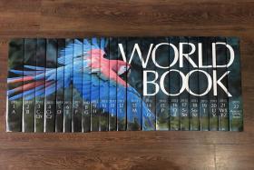 原版进口【The World Book Encyclopedia 】2013版 1-22 全