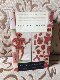 Le Morte d'Arthur by Thomas Malory -- 《亚瑟王之死》 Modern library出品 厚重