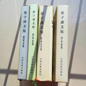 张子斋文集1一4卷(精装)第四本有好几处笔划线