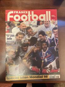 1998法国世界杯夺冠法国足球原版世界杯特刊 world cup赛后特刊 包邮