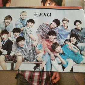 EXO海报 17张合售