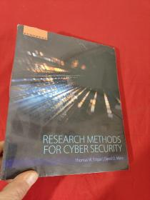 Research Methods for Cyber Security    (小16开)  【详见图】,全新未开封