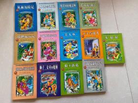 世界儿童文学名著神奇之旅 全14册少一本现有13本合售 看图