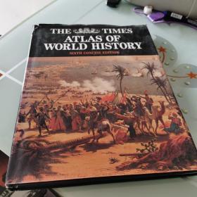 The Times Atlas of World History 精装