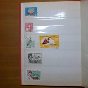 朝鲜韩国六七十年代老邮票。