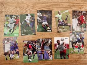 足球球星卡 足球俱乐部 1993登场 10张全