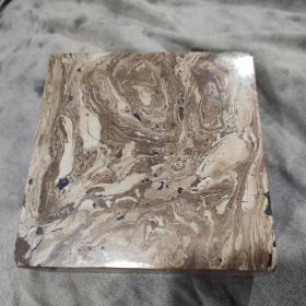 汉晋绞胎砖砚壶承,六面抛光,梦幻般的美 五百一件,可以任选