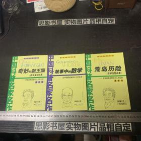 数学故事专辑【奇妙的数王国.荒岛历险.故事中的数学】3册合售