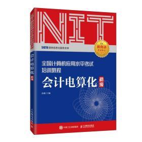 2020年NIT考试会计电算化 初级 全国计算机应用水平考试培训教程