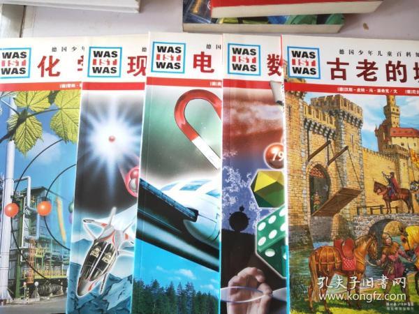 德国少年儿童百科知识全书现代物理.电磁奇观.数学的魅力.古老的城堡.化学世界
