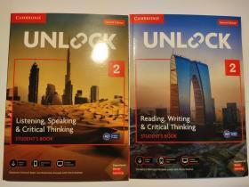 Unlock 2 Listening, Speaking & Critical Thinking +Reading, Writing & Critical Thinking(第二版)