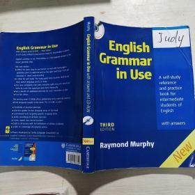 English Grammar In Use with Answers and CD ROM:A Self-study Reference and Practice Book for Intermediate Students of English