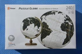 240片6寸地球仪拼图 儿童玩具 未开封 江西制造