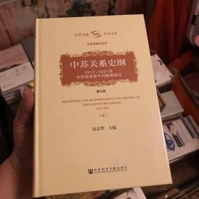 中苏关系史纲:1917-1991年中苏关系若干问题再探讨