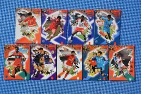 99年甲A联赛球星卡9张 老物件摆设1