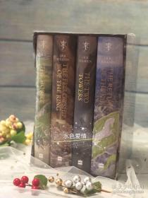 预售指环王霍比特人新版插画版英版合集the hobbit & the lord of the rings boxed set