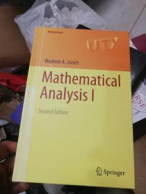现货 Mathematical Analysis I: 1 (Universitext)   英文原版 经典大学数学教材系列:数学分析(第1卷)