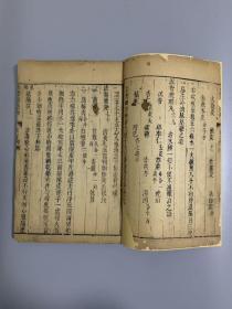 康熙版 大开本 景岳全书 卷五十四 老纸韵味十足 刻印精良