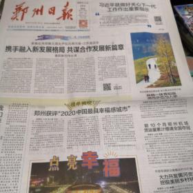 郑州日报2020年11月19日