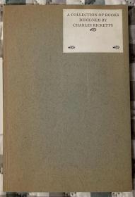 限量编号本,A Collection of books designed by Charles Ricketts:瑞科特设计书目