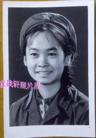 老照片:解放军美女——漂亮女兵,清晰!笑容灿烂甜美