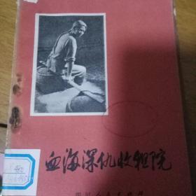 文革遗物农村版图书血海深仇收租院(四川省大邑县贫下中农家史)