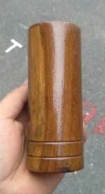 现代,鸡翅木小笔筒2