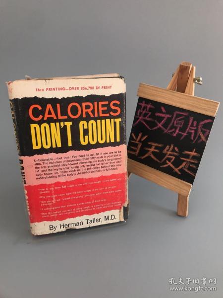 CALORIES DON'T COUNT(精装)