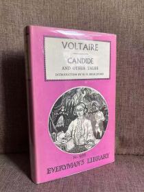 Candide and Other Tales(伏尔泰《老实人及其他故事》,精装带护封,1967年老版本人人文库)