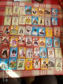华丰魔法士航海王卡片48张合售(其中44张包装未开封)