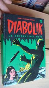 DIABOLIK:LE ORIGINI DEL MITO 意大利语 连环画本, 精装原版 近全新