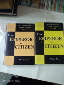 从皇帝到公民:我的前半生,上下册。