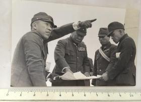 民国抗战时期原版老照片:日本鬼子日军陆军大将