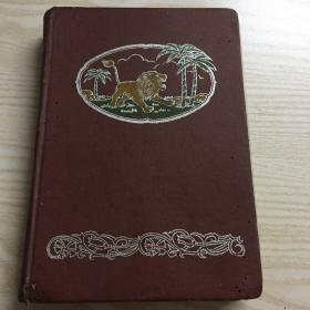 怒吼 漆皮精装日记本 老笔记本