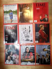 2018 time英文时代杂志 全新 (9本)合售 7号